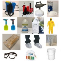 Silver Package - A Professional Set of Disinfecting Tools & Chemicals