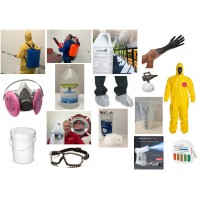 Gold Package - A Professional Set of Disinfecting Tools & Chemicals